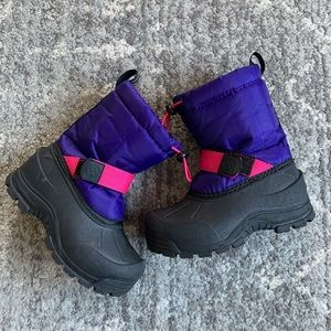 Insulated toddler snow boots waterproof